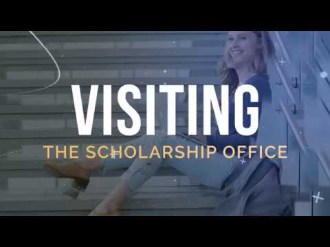 Visiting the Scholarship Office