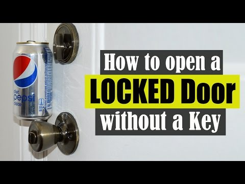 How to Open a Locked Door Without a Key