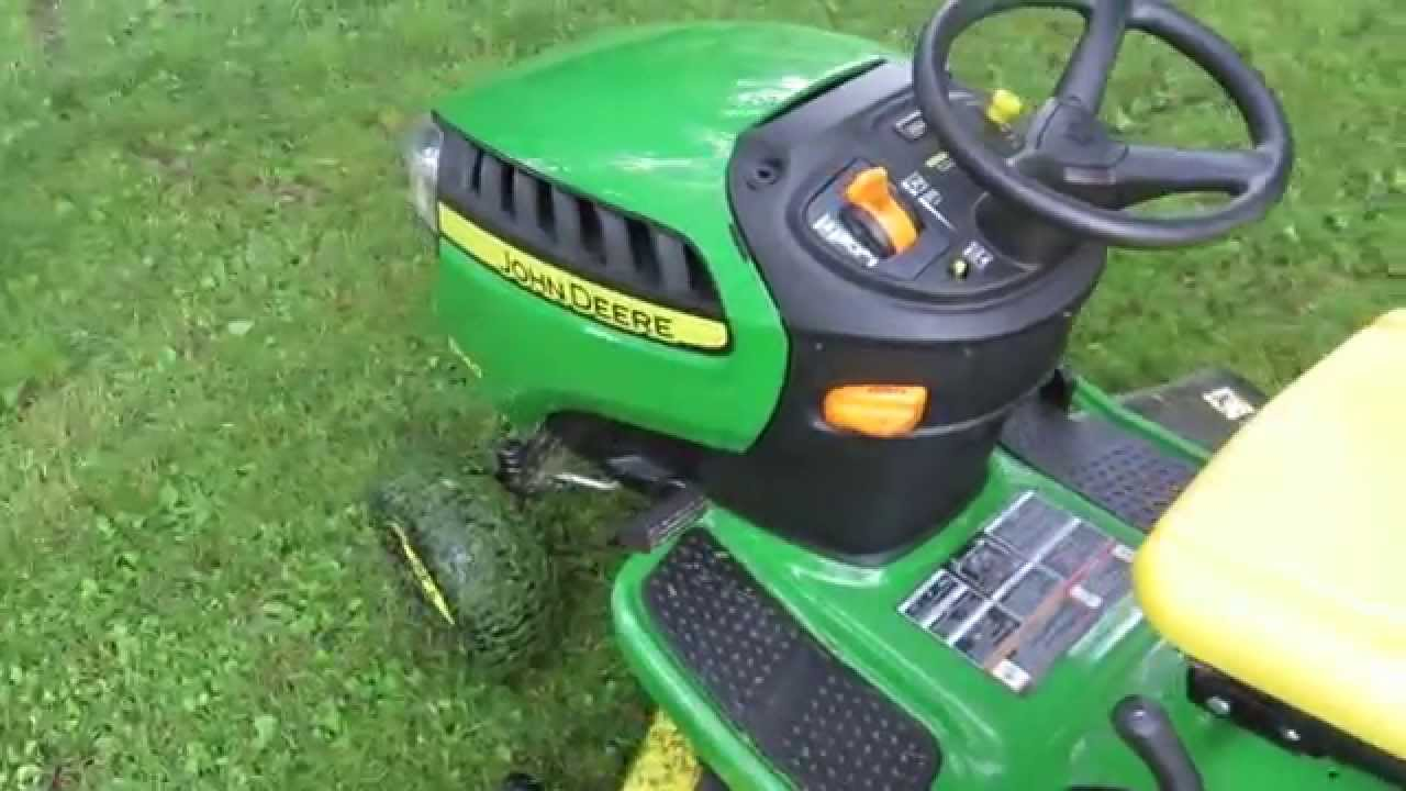 John Deere D140 Riding Mower Review Ya Get What Pay For Youtube D130 Belt Diagram Auto Cars Price And Release