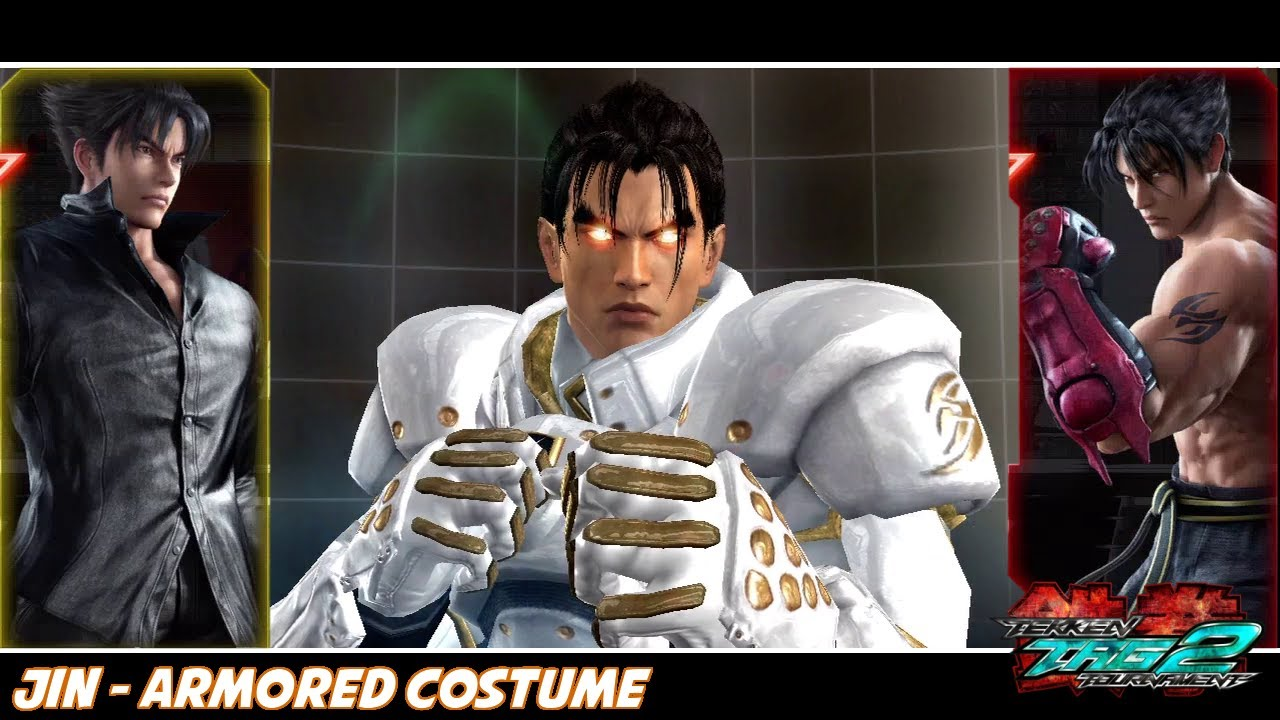 Tekken Tag Tournament 2 Jin Armored Costume Youtube
