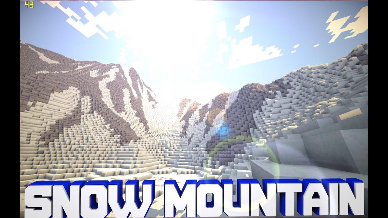 Snow Mountain Seed Minecraft