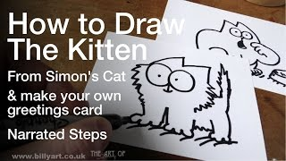 How to Draw the Kitten from Simon
