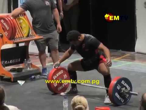 PNG Powerlifters Wins 15 Medals at Oceania Championship