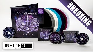 SONS OF APOLLO – MMXX (Unboxing)