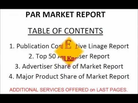 Patterson Advertising Reports Market Profile Epicurean Magazine Advertising
