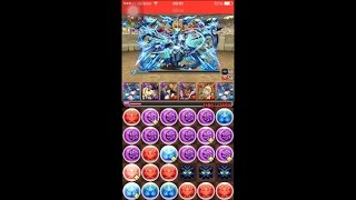 puzzle and dragons challenge dungeons 11 level 10 awoken haku pt