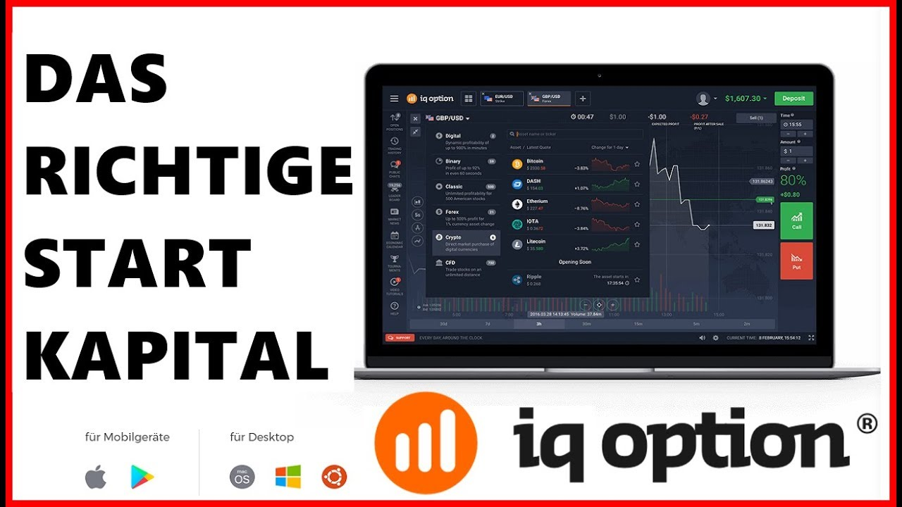 Binäre Optionen. 45 likes. Austausch von Erfahrungen Strategien, Tips und Tricks. Jump to. Sections of this page. Accessibility Help. Press alt + / to open this menu. Facebook. Email or Phone: Password: Forgot account? Binäre Optionen shared IQ Option's post. Sp S on S so S red S · February 2 ·.