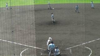 高等学校野球選手権山形大会 寒河江高校vs荒砥高校 三回裏