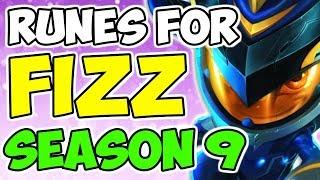 Advanced Fizz AP Rune Guide Mid Lane Season 9 League Of Legends