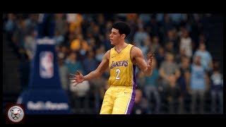 NBA Live 18: Lonzo Ball - 1st Half Highlights vs Memphis