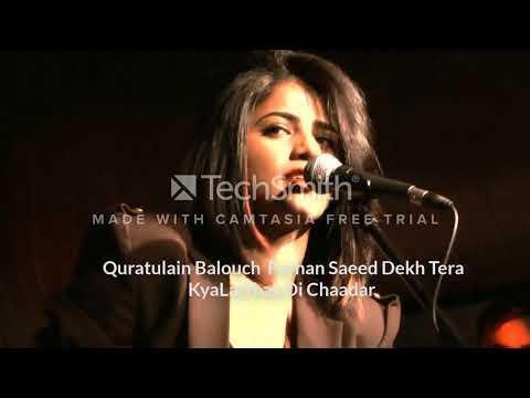 Quratulain BalouchFarhan Saeed Dekh Tera KyaLatthay Di Chaadar