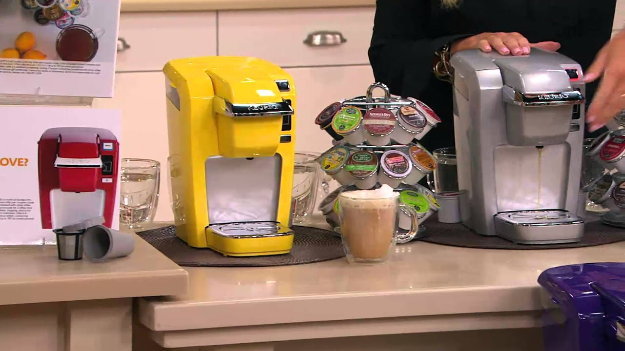 Keurig Coffee Maker Quit Working No Power : Keurig K10 Personal Coffee Maker w/ Your Choice of K-Cup Packs with David Venable - YouTube