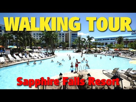 Walking Tour of Loews Sapphire Falls Resort | Universal Orlando