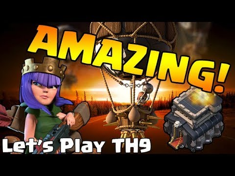 LEVEL 6 LOONS ARE AMAZING! - TH9 DE Hero Farming - Clash of Clans - Let's Play TH9: Episode 5