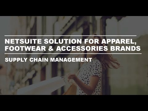 AFA SuiteSuccess Supply Chain Management Overview