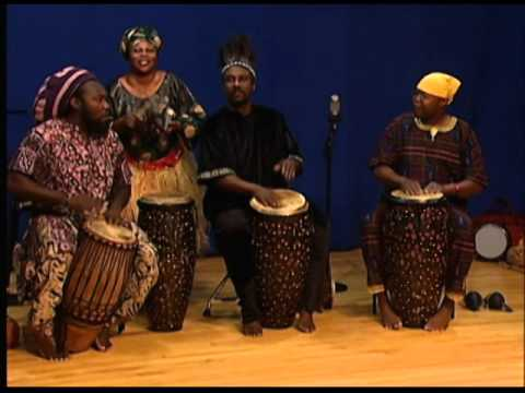 Chata Addy and Shidah; African, Ghana style percussion