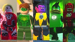 ALL Lanterns in Lego Videogames (2012 - 2017)