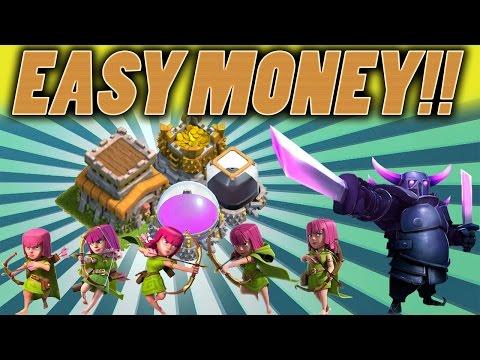 Clash of Clans | HOW TO GET DARK ELIXIR FAST TH8 Easy Dark Elixir, Gold, Elixir, Farming