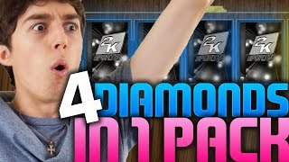 4 DIAMONDS IN ONE PACK! NBA 2K16 PACK AND PLAY
