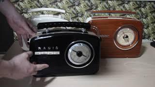 Обзор на переносные ретро-приемники Camry CR1130, Playbox PB-13 и Roadstar TRA-1957N/WD