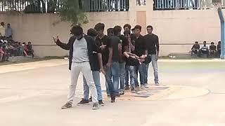 Anurag (CVSR) flash mob@2K18.  #day 1