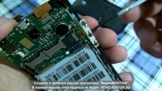 Ремонт. Телефон Fly Pronto IQ449, заміна тачпада.