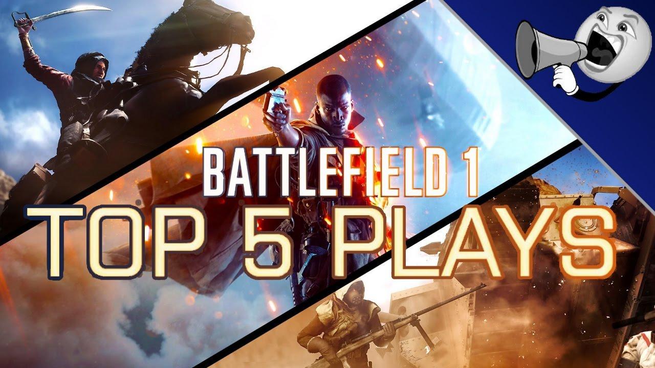 Download Battlefield 1 Top 5 Plays #5: Distance Tankshots Take Down Planes! (BF1 Top 5)