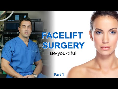 Facelift Surgery Part 1