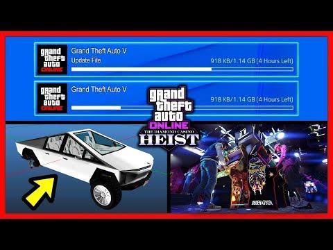 GTA 5 Online: ОБНОВЛЕНИЕ «Ограбление Казино Diamond» / Время Выхода & Новый Транспорт! / 1.49