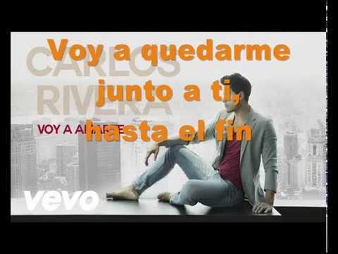 Carlos Rivera - Voy a Amarte (Pistas Martín) KARAOKE