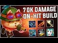 This is 100% the BEST On-Hit Teemo build in Season 9! - Teemo Only Season 9