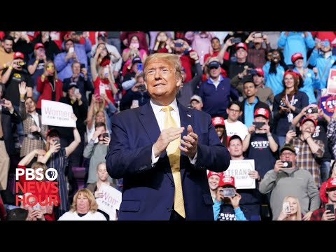 WATCH: Trump holds final rally of 2020 campaign in Grand Rapids, Michigan