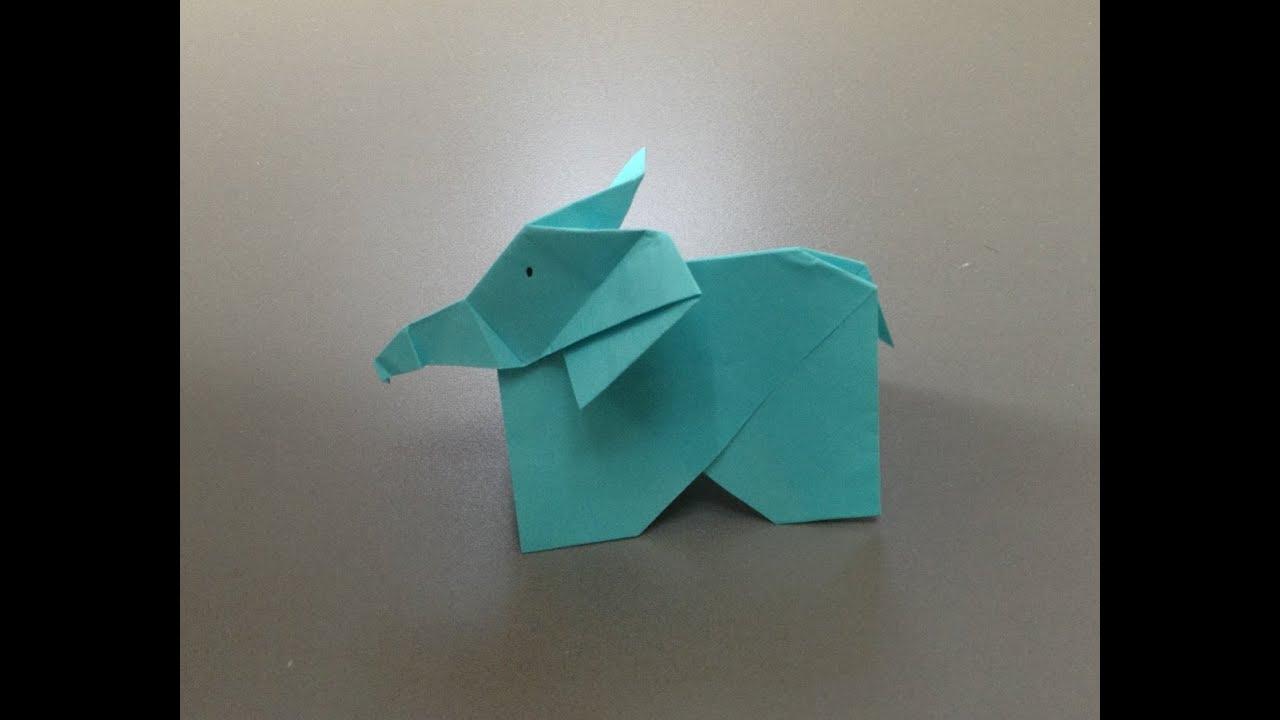 すべての折り紙 動物 折り紙 立体 : 立体 ぞう 折り紙 折り方 ...