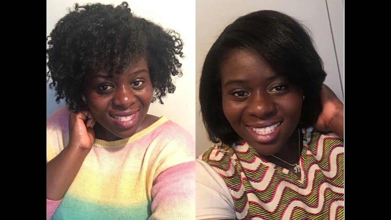 What To Straighten Natural Hair With