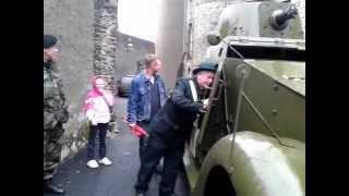 Old Army car in Enniscorthy Castle
