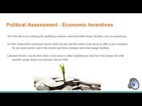 MSU ME 417 Florida Energy Infrastructure Overview and Recommendations