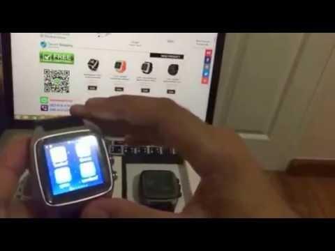 Smart Watch X01 สุดเจ๋ง โหลดแอป เล่นเน็ต Face line ในตัว