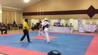 Taekwondo sukipt ukm 2018 Fin Weight Category Quarter Final Match U...