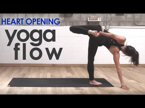 Power Yoga w/ Backbends and Heart Flame Meditation