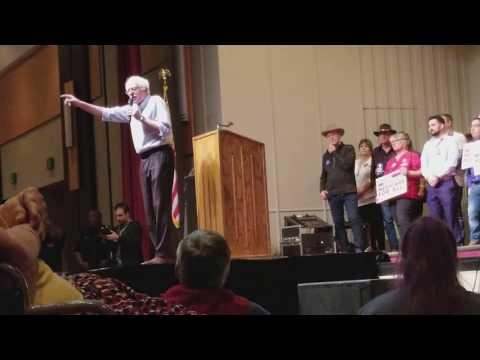 Bernie Sanders in Lubbock, Texas 3/10/18 PART 1