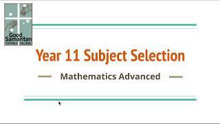 Mathematics Advanced