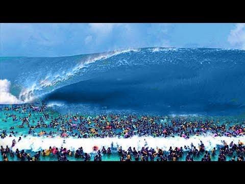 10  Gigantescos Tsunamis Reales Del Mundo