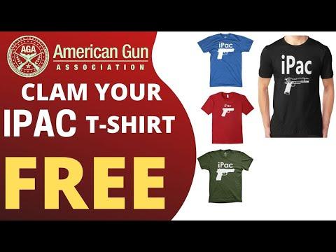 Get Free American Gun Association T-shirt | American Gun Association -  Review 2020