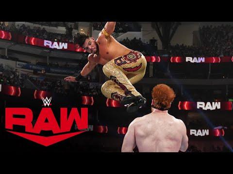 Humberto Carrillo vs. Sheamus: Raw, July 19, 2021