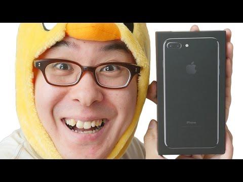 やっとキターーー!iPhone 7 Plus ジェットブラックがやってきた!