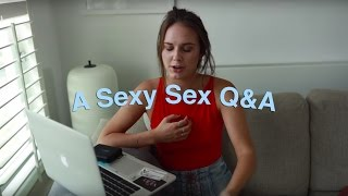 Does It Have To Hurt the First Time? (a comprehensive sex Q&A)