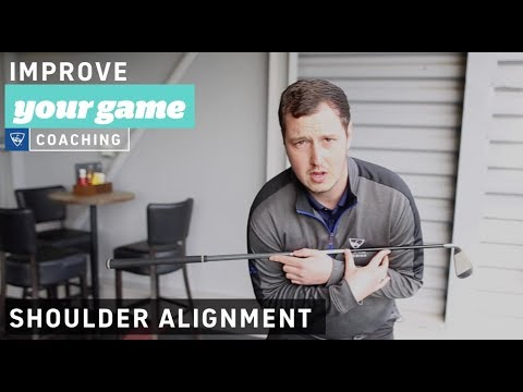 Prevent bad shots with proper shoulder alignment - Golf Lessons with Topgolf