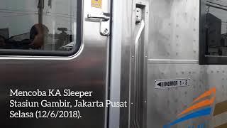 Menengok Kereta Api Sleeper untuk Rute Jakarta - Surabaya
