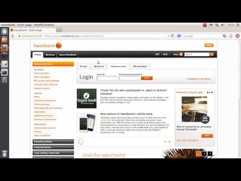 Swedbank Estonia Internet bank ID card authentication bypass