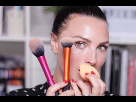How to use Makeup Brushes for Beginners | Real Techniques